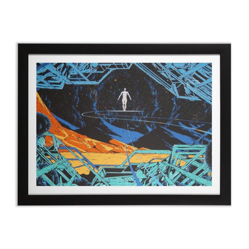 Hori Surf Home Framed Fine Art Print by rockthestereo's Artist Shop