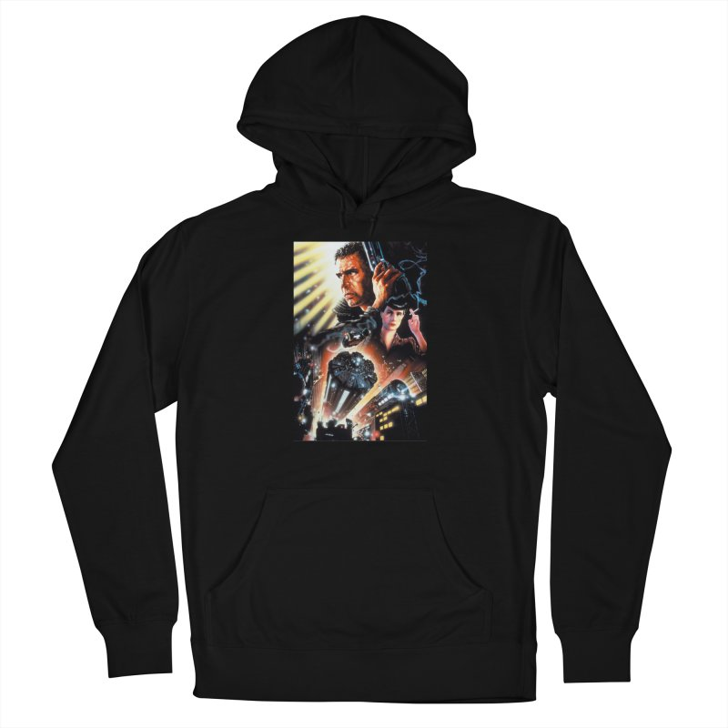 Fun Blade Men's French Terry Pullover Hoody by rockthestereo's Artist Shop