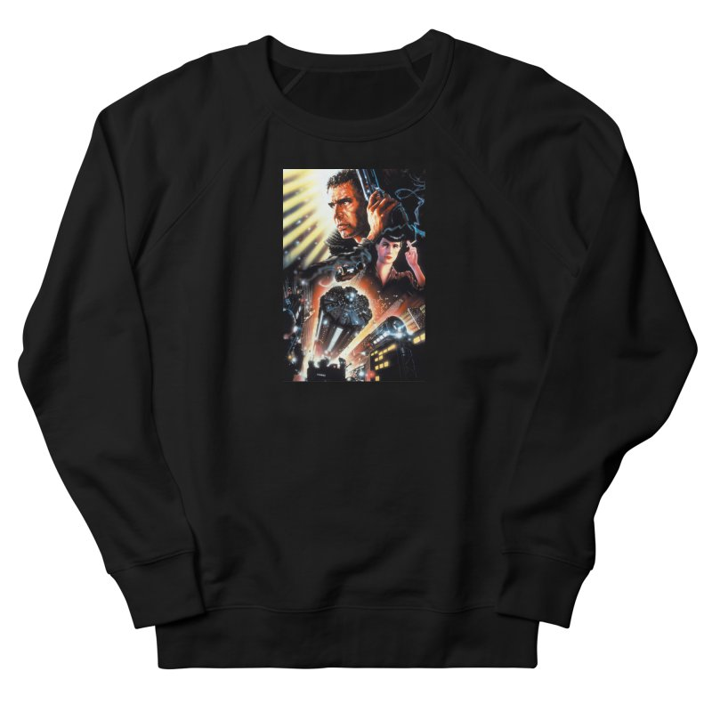 Fun Blade Men's French Terry Sweatshirt by rockthestereo's Artist Shop
