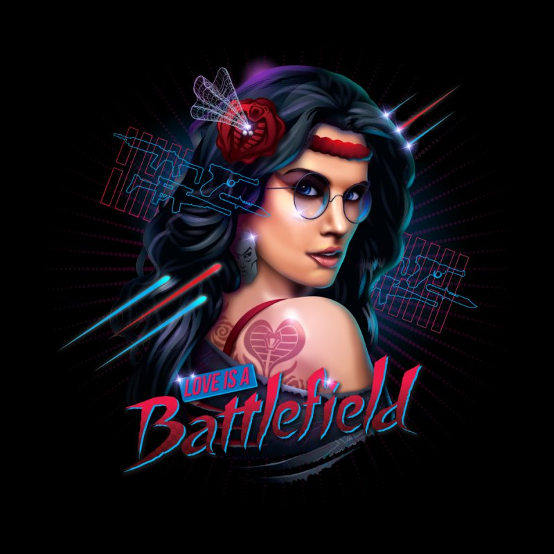 Love is a Battlefield by Rocky Davies Artist Shop