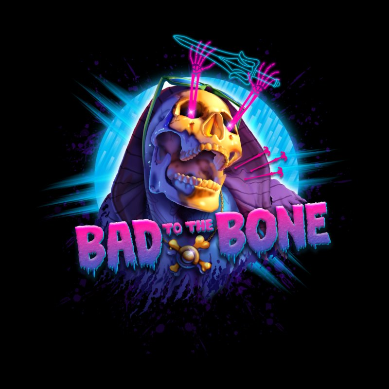 Bad to the Bone by Rocky Davies Artist Shop