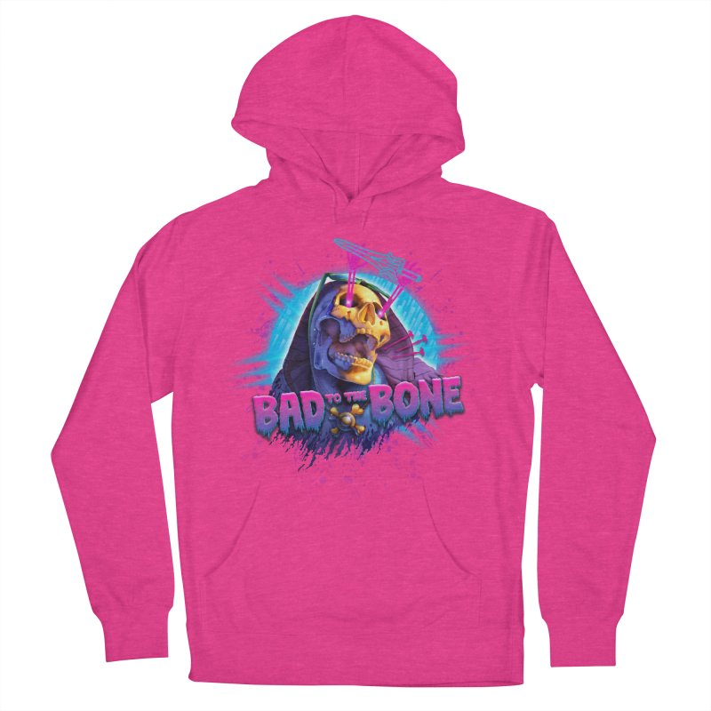 Bad to the Bone Men's Pullover Hoody by Rocky Davies Artist Shop