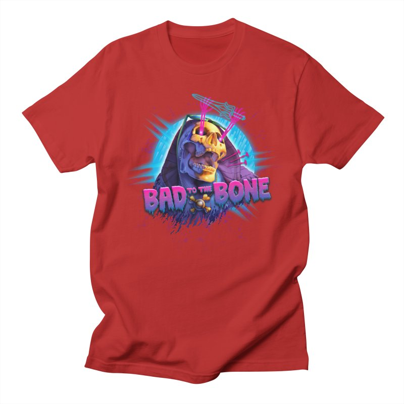 Bad to the Bone Men's T-shirt by Rocky Davies Artist Shop