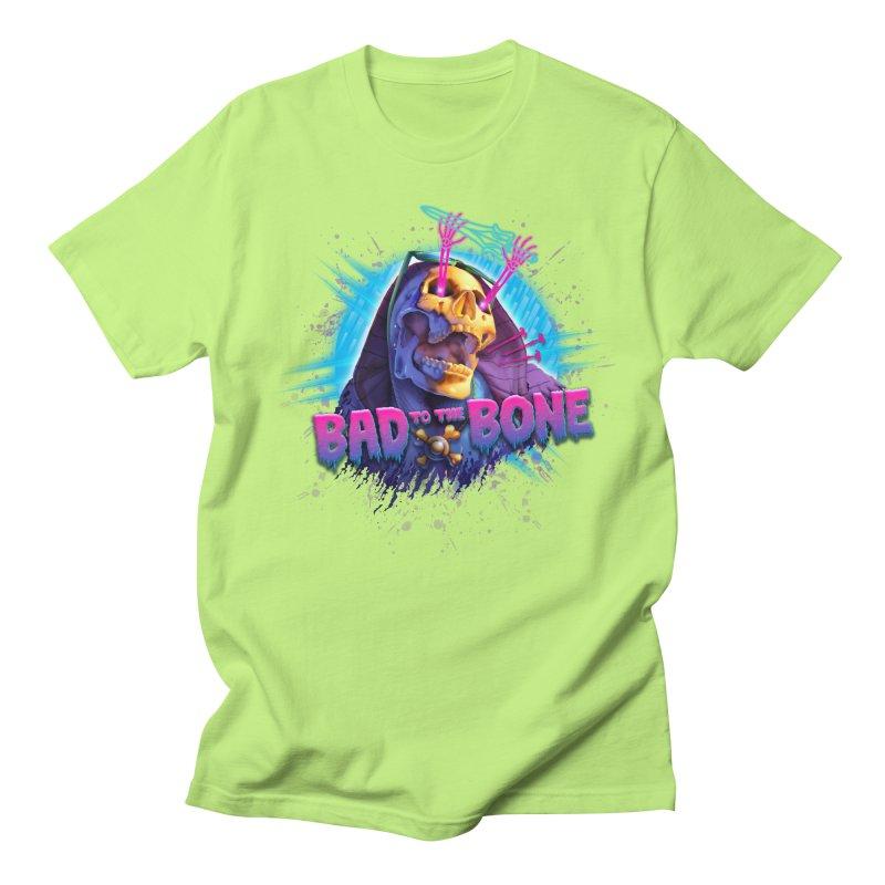 Bad to the Bone Men's T-Shirt by Rocky Davies Artist Shop