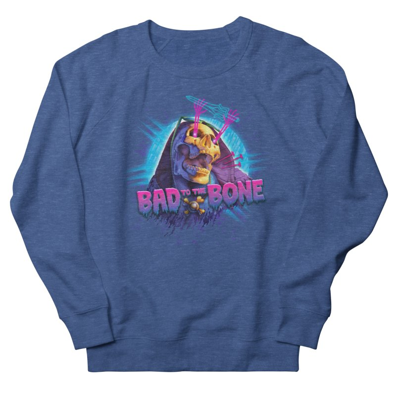 Bad to the Bone Men's Sweatshirt by Rocky Davies Artist Shop