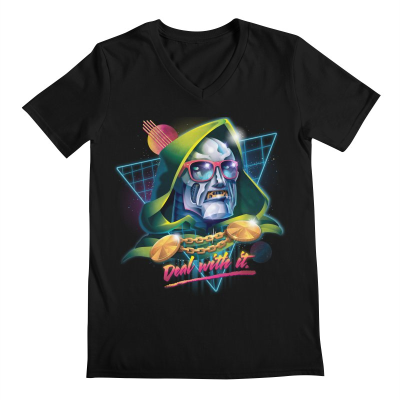 Deal With It. Men's V-Neck by Rocky Davies Artist Shop
