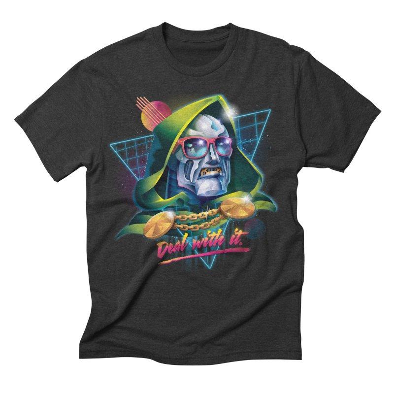 Deal With It. Men's Triblend T-shirt by Rocky Davies Artist Shop