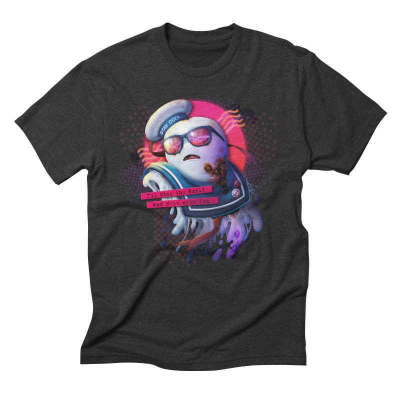 I'll Stop the World and Melt With You Men's Triblend T-Shirt by Rocky Davies Artist Shop