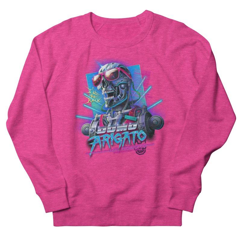 Domo Arigato Men's Sweatshirt by Rocky Davies Artist Shop