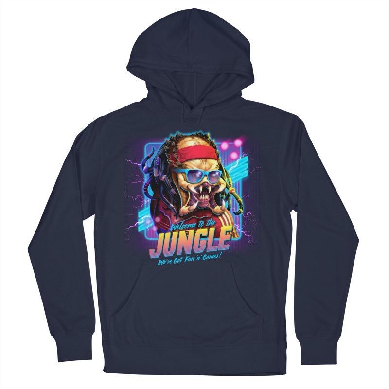 Welcome to the Jungle Men's Pullover Hoody by Rocky Davies Artist Shop