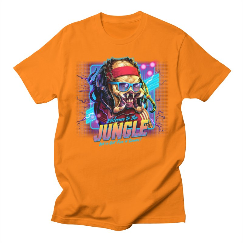 Welcome to the Jungle Men's T-shirt by Rocky Davies Artist Shop