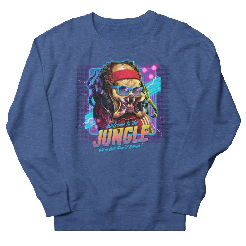 Welcome to the Jungle Men's Sweatshirt by Rocky Davies Artist Shop