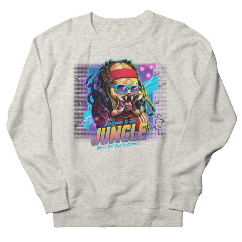Welcome to the Jungle Men's Sweatshirt by Rocky Davies Artist Shop