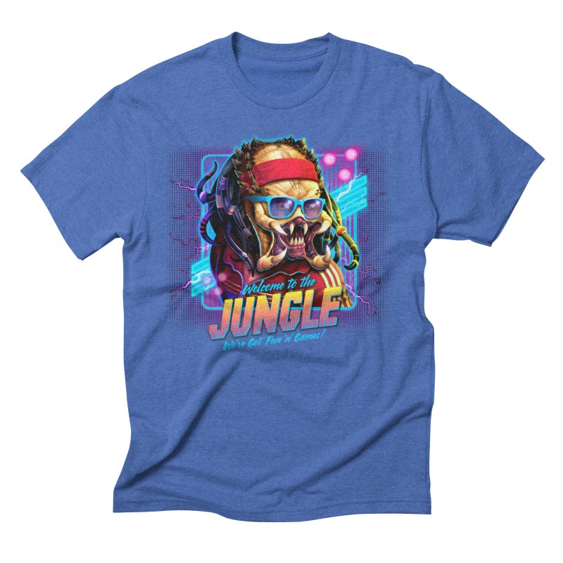 Welcome to the Jungle Men's Triblend T-Shirt by Rocky Davies Artist Shop