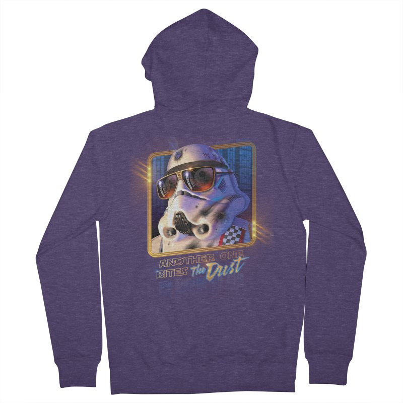 Another One Bites the Dust Men's Zip-Up Hoody by Rocky Davies Artist Shop