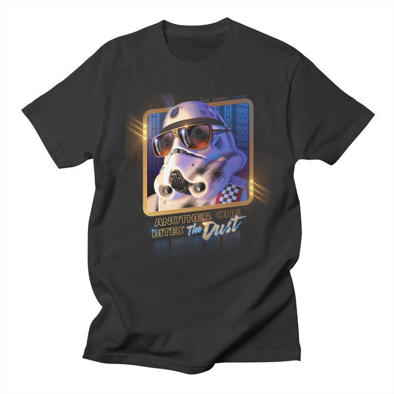 Another One Bites the Dust Men's T-Shirt by Rocky Davies Artist Shop