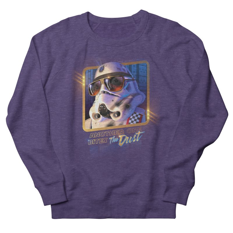 Another One Bites the Dust Men's Sweatshirt by Rocky Davies Artist Shop