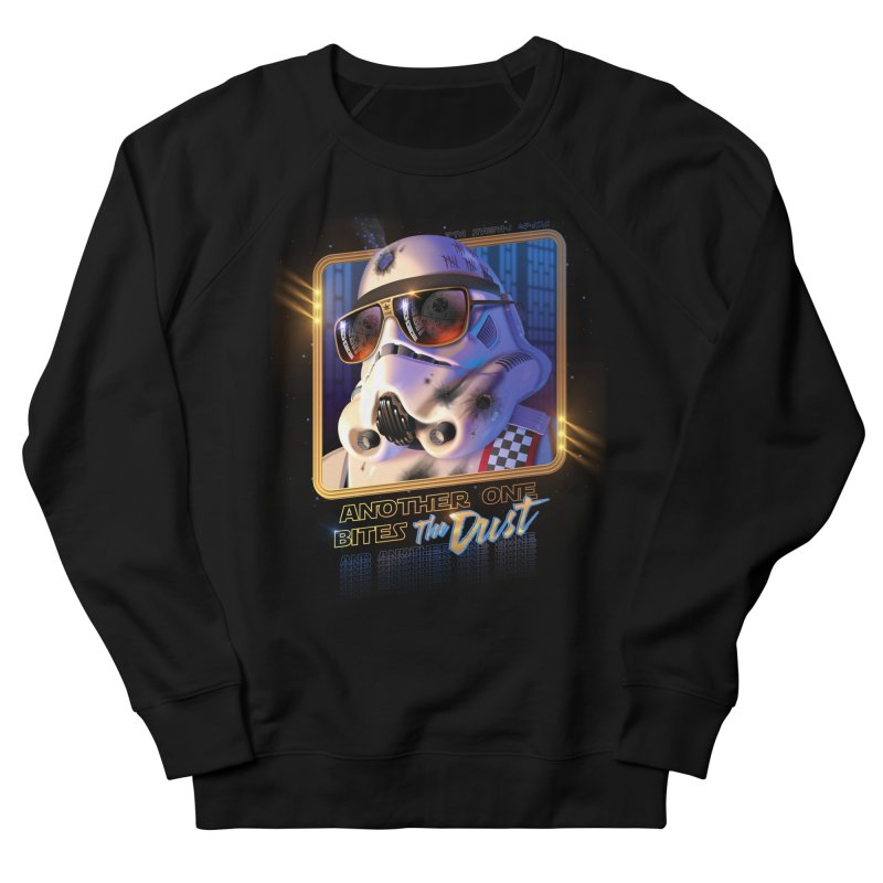 Another One Bites the Dust Men's Sweatshirt by Rocky Davies Artist Shop