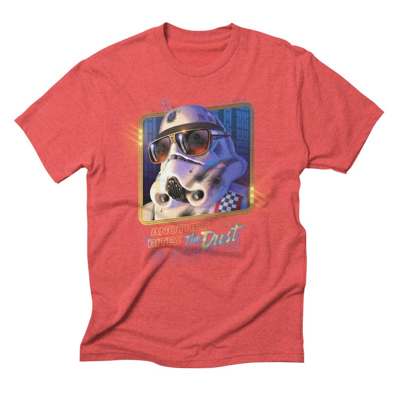 Another One Bites the Dust Men's Triblend T-Shirt by Rocky Davies Artist Shop