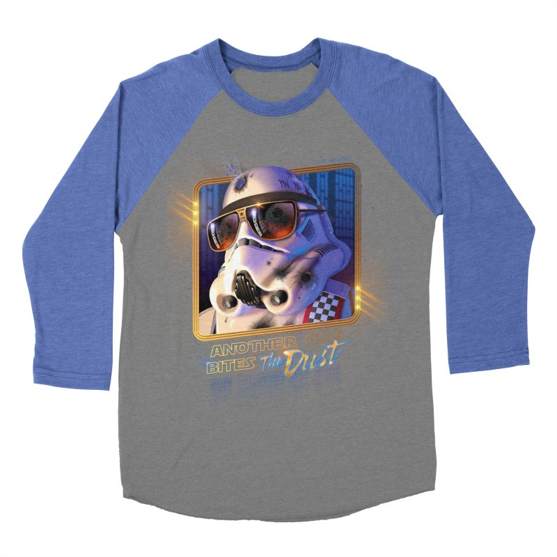 Another One Bites the Dust Men's Baseball Triblend T-Shirt by Rocky Davies Artist Shop