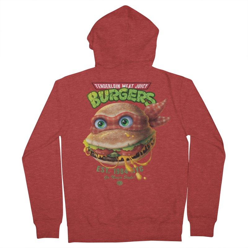 Tenderloin Meat Juicy Burgers   by Rocky Davies Artist Shop