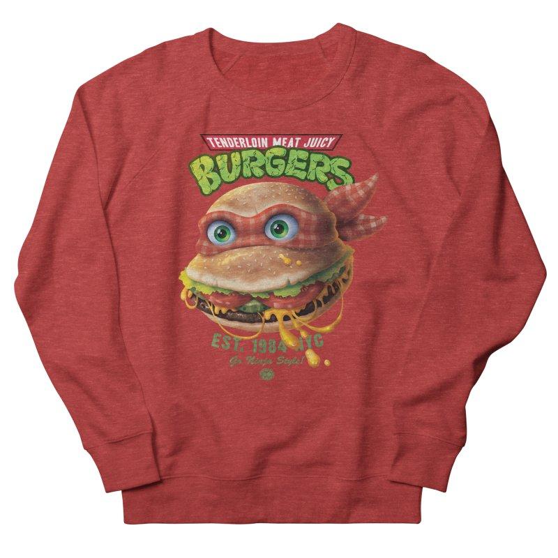 Tenderloin Meat Juicy Burgers Men's Sweatshirt by Rocky Davies Artist Shop