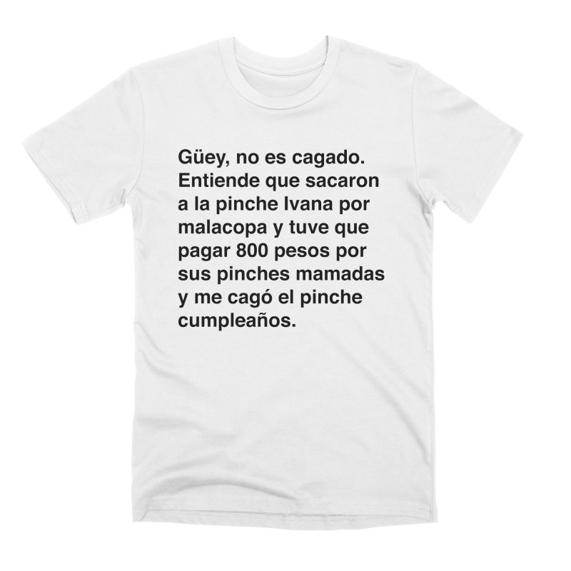 Camila e Ivana Men's Premium T-Shirt by Rodrigo Tello