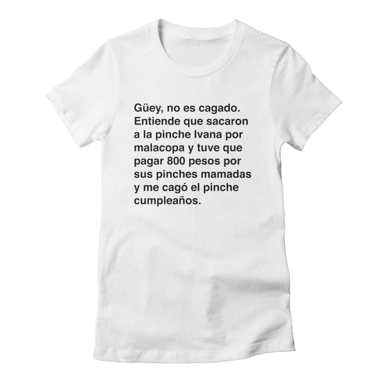 Camila e Ivana Women's Fitted T-Shirt by Rodrigo Tello