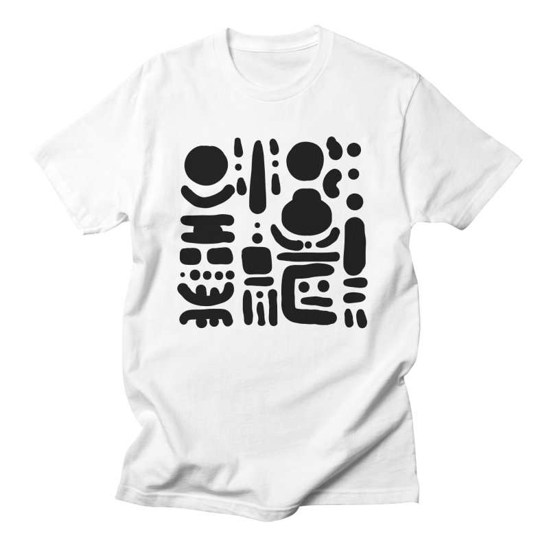 Creatures talking among trees Men's T-Shirt by Rodrigo Tello