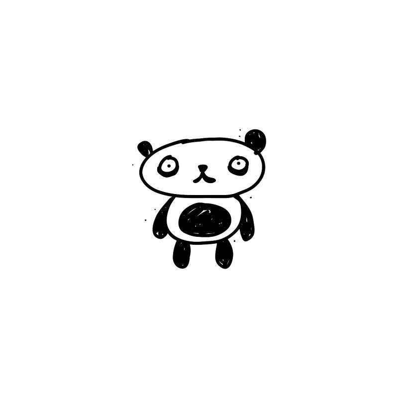 Small lonely panda Women's T-Shirt by Rodrigo Tello