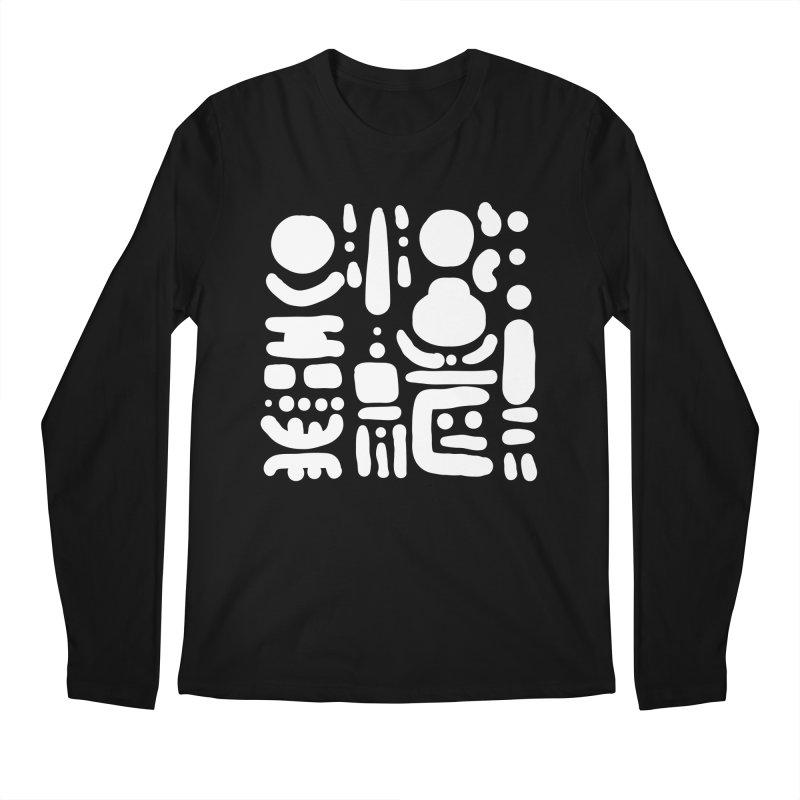 Creatures talking through the night Men's Regular Longsleeve T-Shirt by Rodrigo Tello