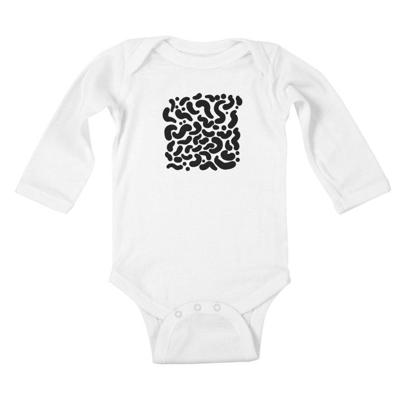 life 04 Kids Baby Longsleeve Bodysuit by Rodrigo Tello