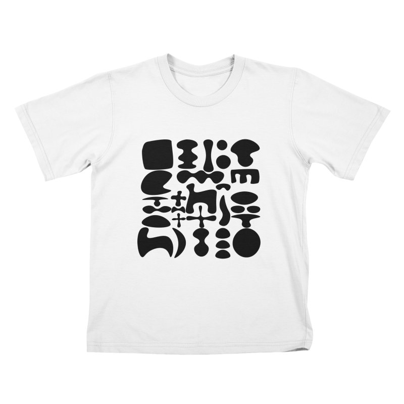 Birds & Moon & Sun & Miró Kids T-Shirt by Rodrigo Tello