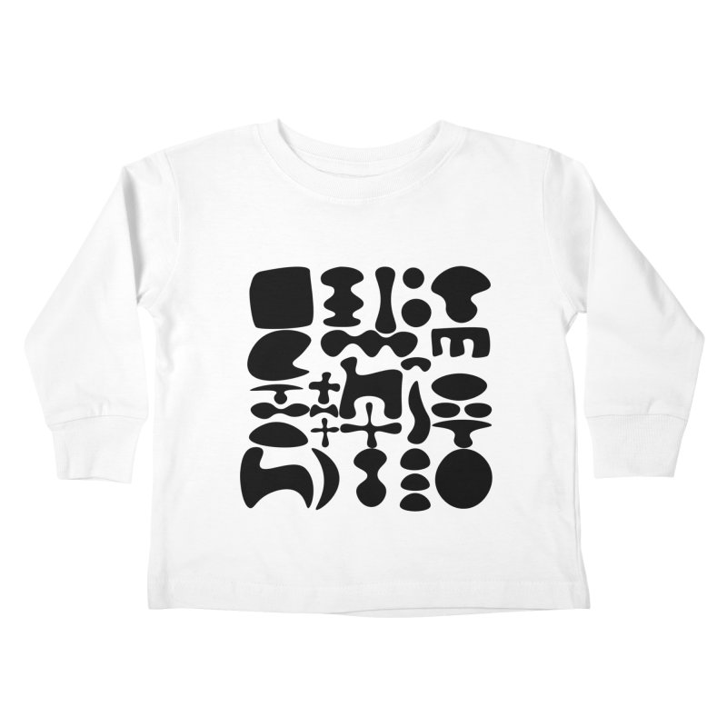 Birds & Moon & Sun & Miró Kids Toddler Longsleeve T-Shirt by Rodrigo Tello