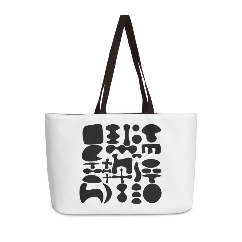 Birds & Moon & Sun & Miró Accessories Weekender Bag Bag by Rodrigo Tello
