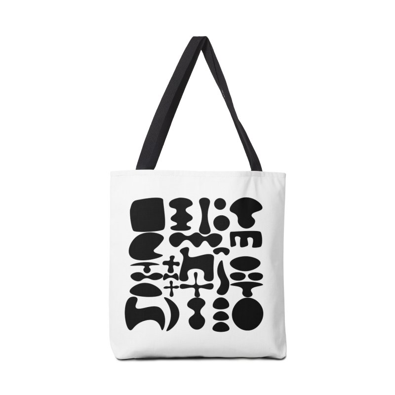 Birds & Moon & Sun & Miró Accessories Bag by Rodrigo Tello
