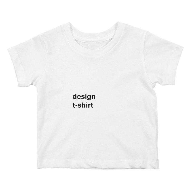 design tshirt Kids Baby T-Shirt by Rodrigo Tello