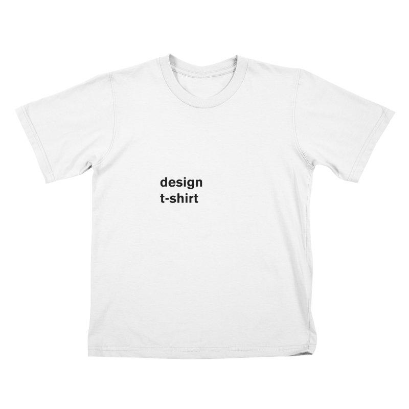 design tshirt Kids T-Shirt by Rodrigo Tello
