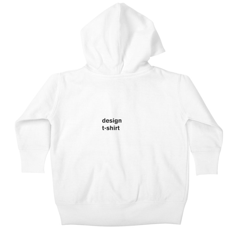 design tshirt Kids Baby Zip-Up Hoody by Rodrigo Tello
