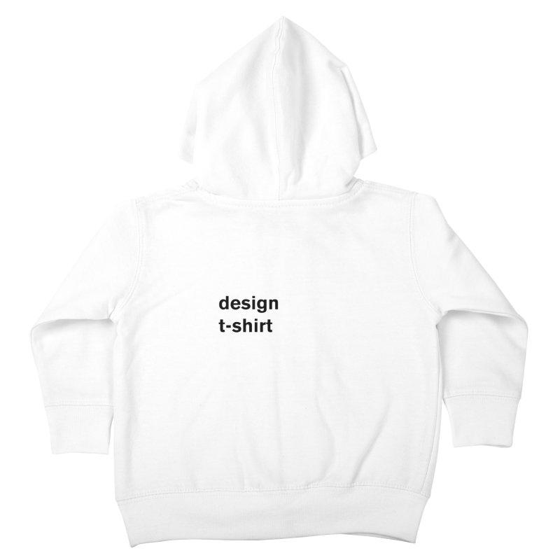 design tshirt Kids Toddler Zip-Up Hoody by Rodrigo Tello