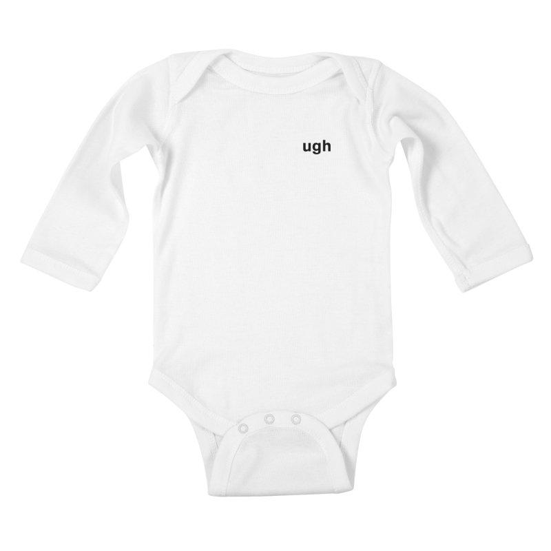 ugh Kids Baby Longsleeve Bodysuit by Rodrigo Tello