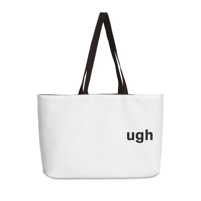 ugh Accessories Weekender Bag Bag by Rodrigo Tello