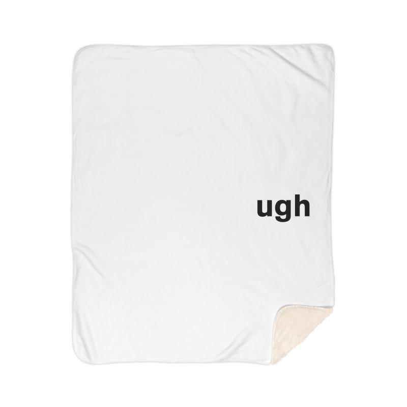 ugh Home Sherpa Blanket Blanket by Rodrigo Tello