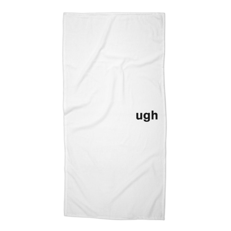 ugh in Beach Towel by Rodrigo Tello