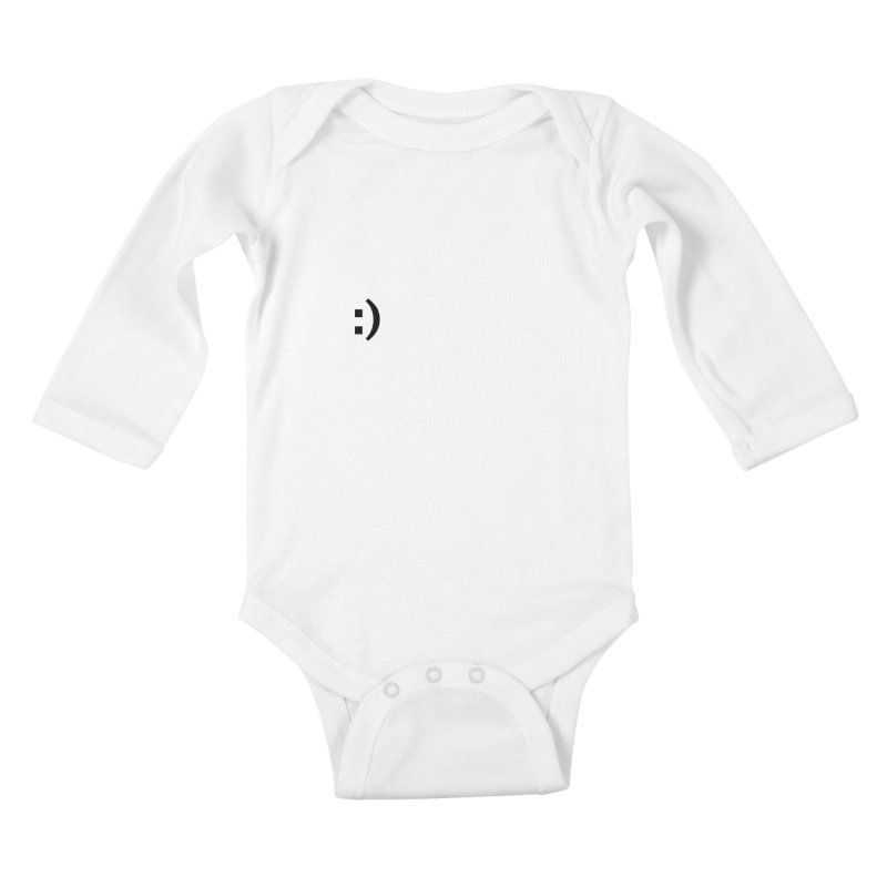 :) Kids Baby Longsleeve Bodysuit by Rodrigo Tello