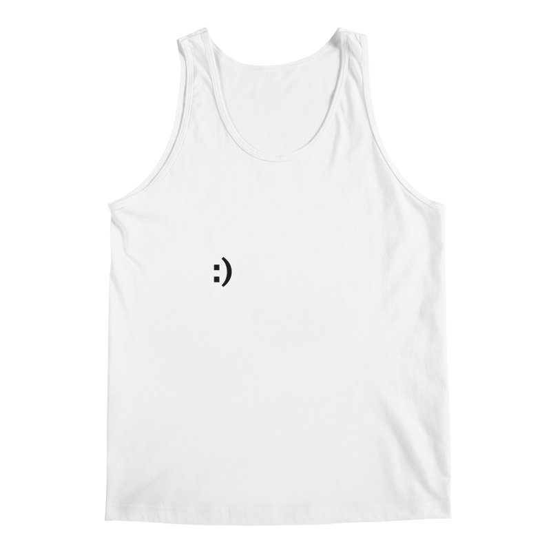 :) Men's Regular Tank by Rodrigo Tello
