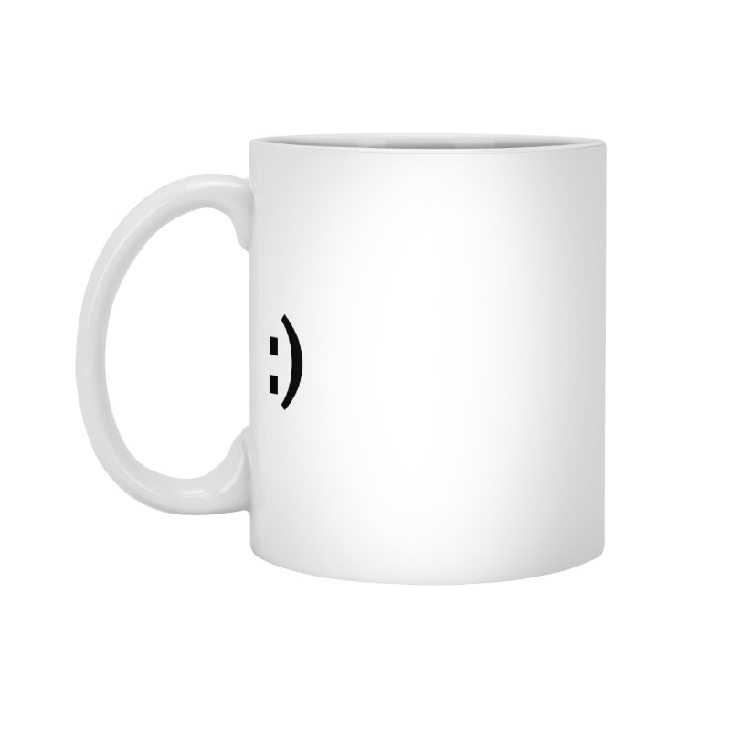 :) Accessories Standard Mug by Rodrigo Tello