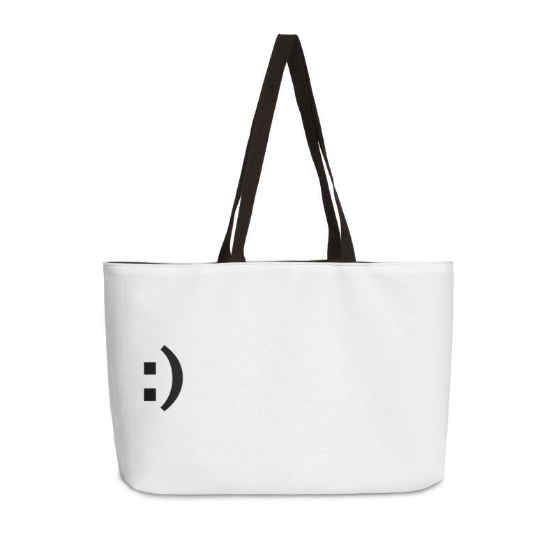 :) Accessories Weekender Bag Bag by Rodrigo Tello