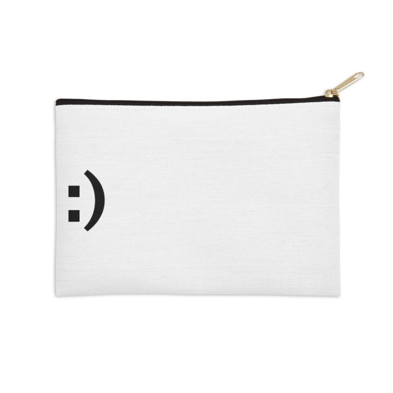 :) Accessories Zip Pouch by Rodrigo Tello