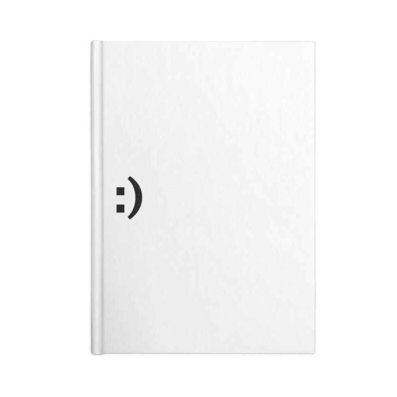 :) Accessories Blank Journal Notebook by Rodrigo Tello
